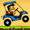 Crazy Golf Cart Icon