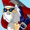 Rocket Santa 2 Icon