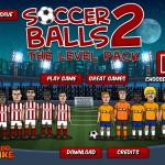 Soccer Balls 2 Level pack Screenshot