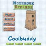 Notebook Defense Screenshot