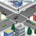 Winter Traffic Policeman Screenshot