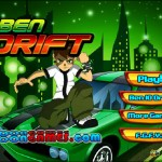 Ben 10 Drift 2 Screenshot