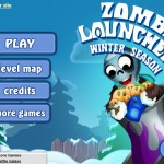 Zombie Launcher: Winter Season Screenshot