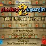 FireBoy and WaterGirl 2: The Light Temple Screenshot