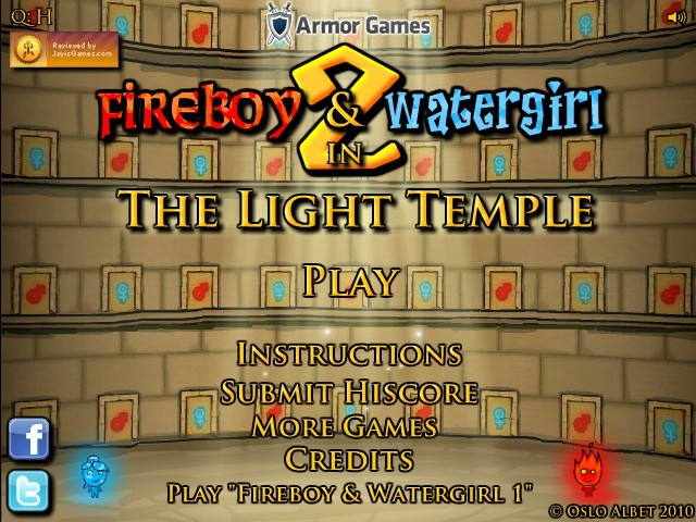 Fireboy and Watergirl 9 Game Play Online for Free
