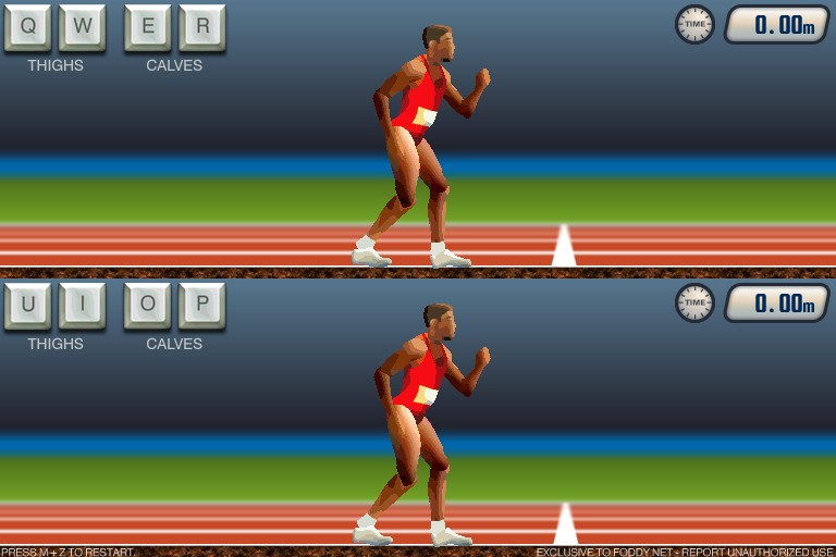 how to run faster in qwop