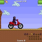 Ninja Motocross Screenshot