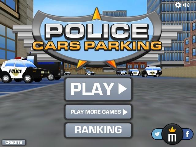 Games Police Car Parking D
